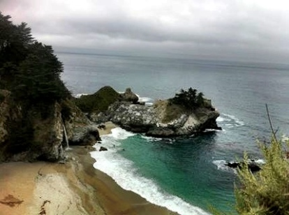 McWay Falls, pictures simply don't do it justice