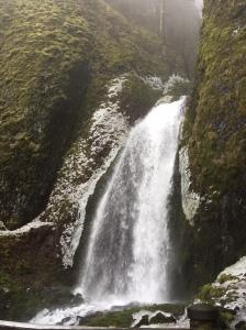 Wahkeena Falls!